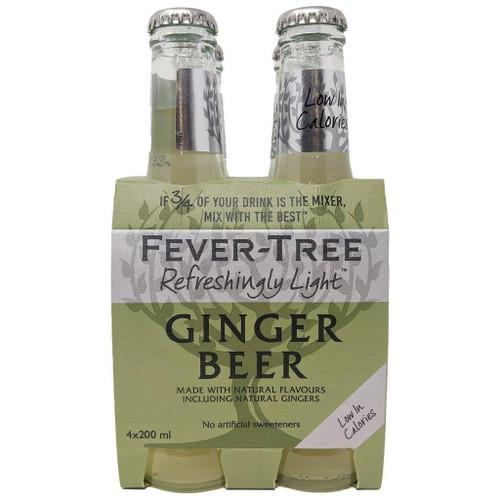 Fever Tree | Light Ginger Beer 4 pk