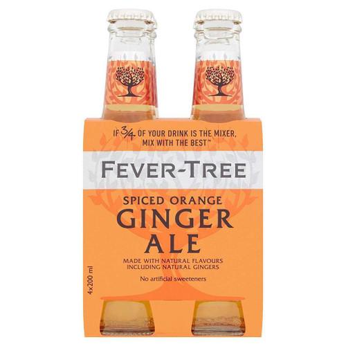 Fever Tree | Spiced Orange Ginger Ale 4pk