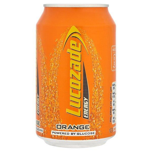 Lucozade | Orange Energy Drink 330ml