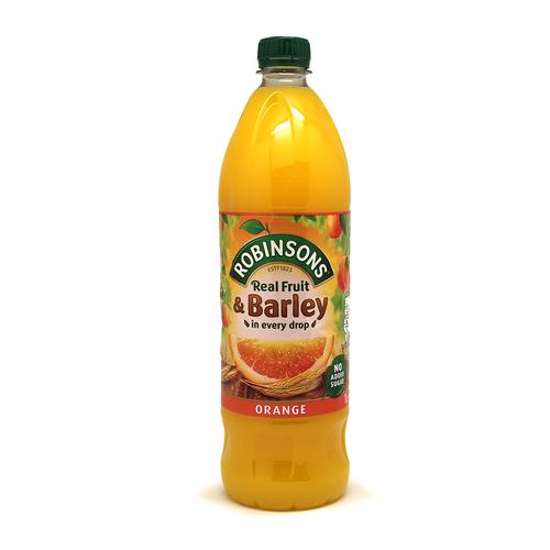 Robinsons | Real Fruit Orange & Barley - No sugar added