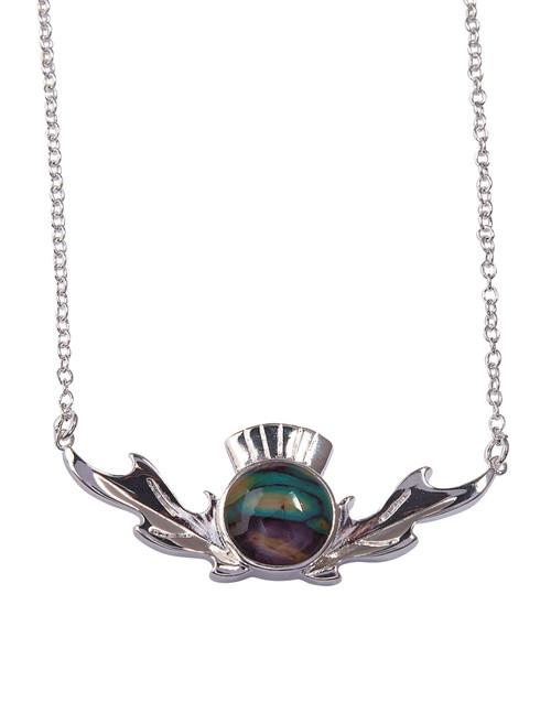 Heathergems | Thistle Necklace