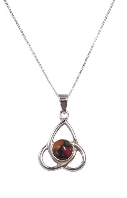 Heathergems | Sterling Silver Celtic Knot Pendant