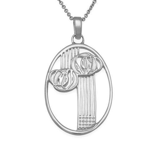 Ortak | Charles Rennie Macintosh Silver Pendant