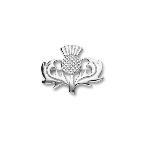 Ortak | Thistle Silver Brooch