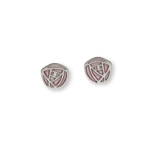 Ortak | Sterling Silver 'Glasgow Rose' Earrings