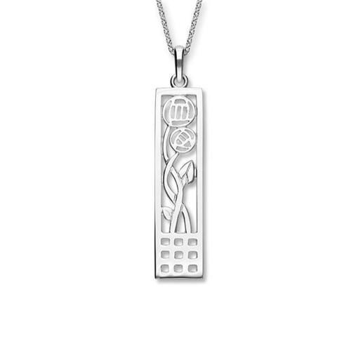 Ortak | Charles Rennie Mackintosh Silver Pendant