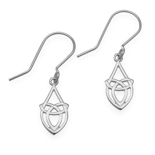 Ortak | Celtic Silver Earrings