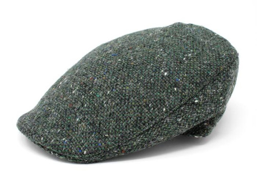 Hanna Hats | Donegal Touring Tweed Cap