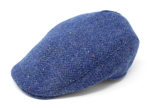 Donegal Touring Tweed Cap ( Blue )