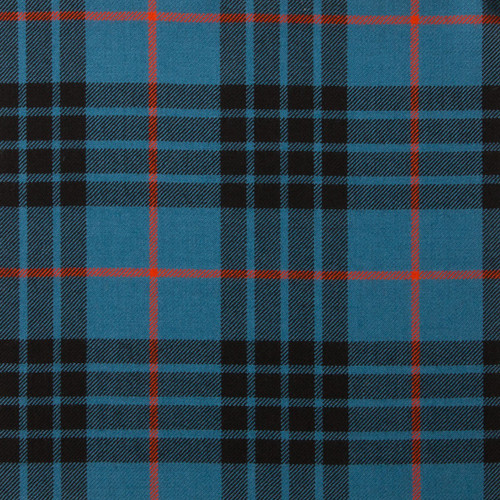 MACKAY BLUE ANCIENT LIGHT WEIGHT TARTAN FABRIC