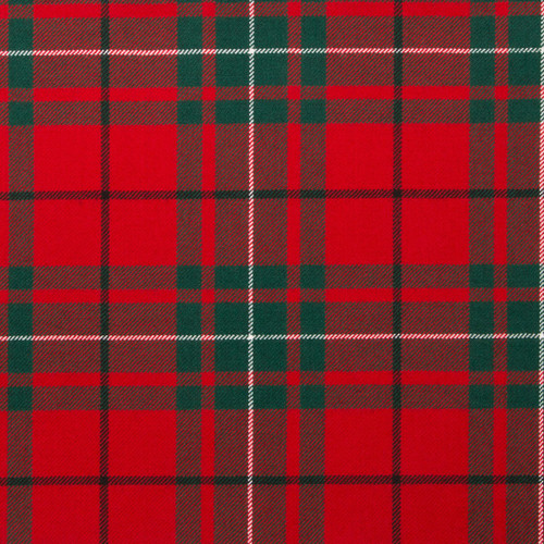 MACAULEY RED MODERN LIGHT WEIGHT TARTAN FABRIC