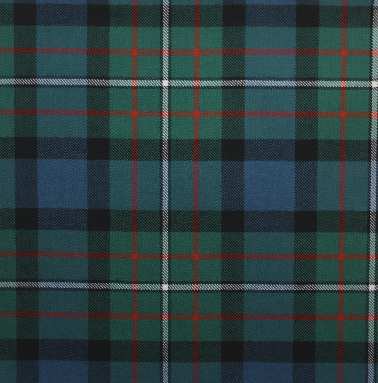 Tartan Tie Clan Ferguson Scottish Wool Plaid