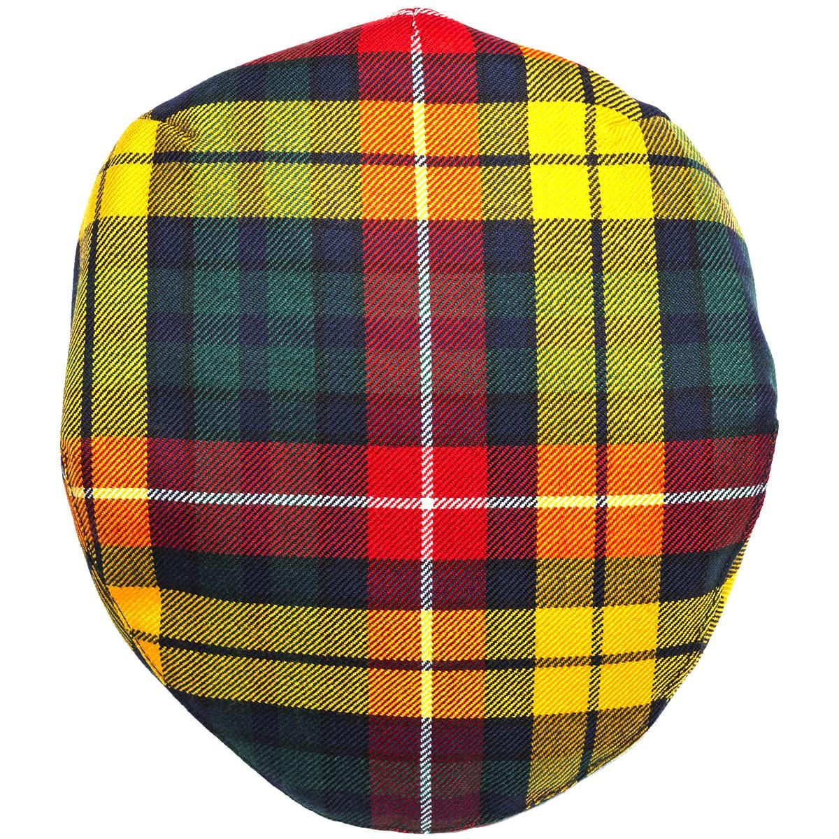 9303359d859 Buchanan Modern Tartan Barnton Cap - Burnett s   Struth Scottish Regalia