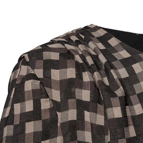 Georgie Thomas - Check Tuck Dress