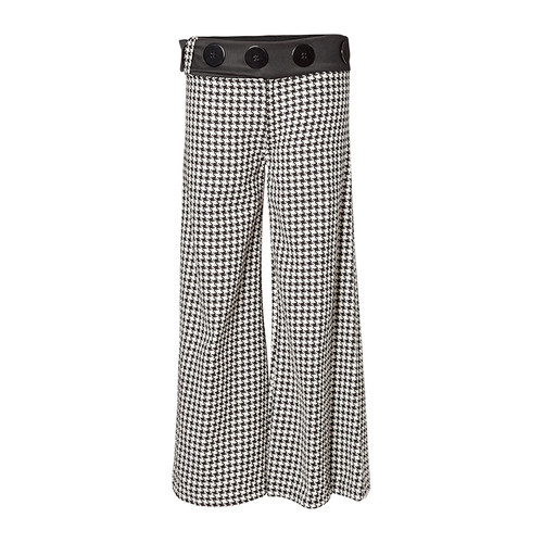 Houndstooth Sailor Pant