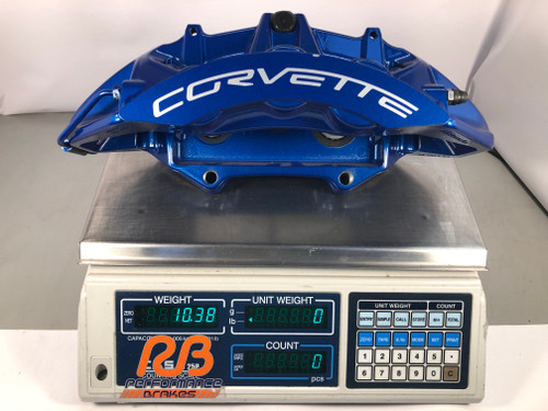 Corvette ZR1 OE Calipers - 4 ea Car Set (Blue)