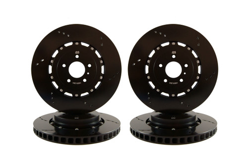 RB 2pc Rotor Kit  (350/336) for Ford F150/Raptor (12-19) w/Rear e-Parking Brake (P/N 2570 & 2632)