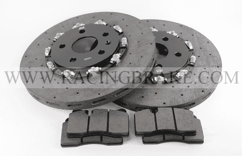 RB CCB Rotor Kit (345x32) for Corvette C8 Z51 Front Upgrade Fits OE Calipers (Not Included) w/o Modifications