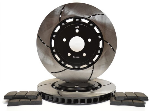 RB 2Pc Heavy Duty Rotor for Dodge Viper 03+ Front (Wider annulus than OE can run TA pad w/60mm depth)