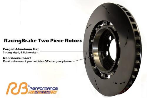 RB 2pc Rotor for Ford F150/Raptor (09-19) Rear w/Drum Emergency Brake