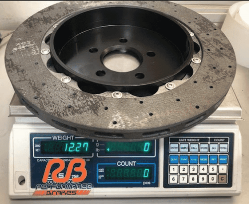 RB-CCB (380x28) for Ford GT350 Rear Upgrade (Retains OE Drum Brake)