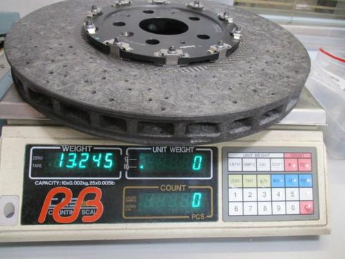 Corvette ZR1 C6/C7 Front Carbon Ceramic Rotor (394x36mm) OE# 22805791  (Qty=1 ea)