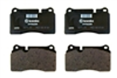 [PD1165-21] OE Corvette ZR1 Brake Pad for Rear CCM Rotors (OE# 22956256)