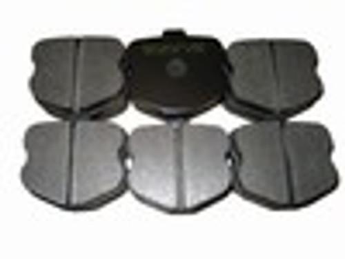 [PD1185F-35] RB (ET500) Brake Pad: CORVETTE Z06 FRONT 06-11