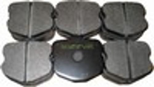 [PD1185F-38] RB (ET800) Brake Pad: CORVETTE Z06 FRONT 06-11