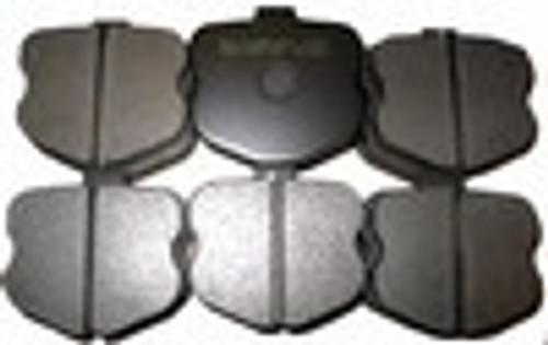[PD1185F-39] RB (ET900) Brake Pad: CORVETTE Z06 FRONT 06-11