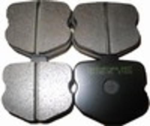 [PD1185R-35] RB (ET500) Brake Pad: CORVETTE Z06 REAR 06-11
