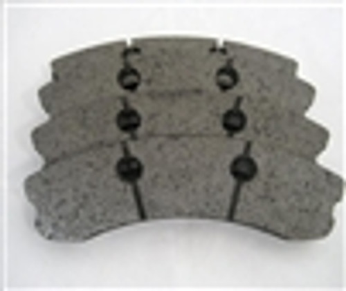 [PDS1185F-396] RB XT960 Brake Pad: CORVETTE Z06 One-Pc FRONT 06-11