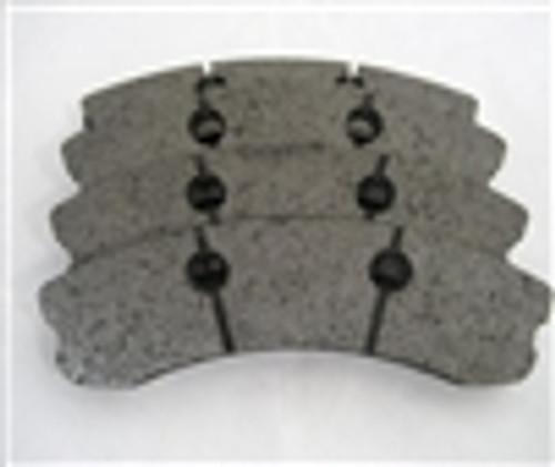 [PDS1185F-397] RB XT970 Brake Pad: CORVETTE Z06 One-Pc FRONT 06-11