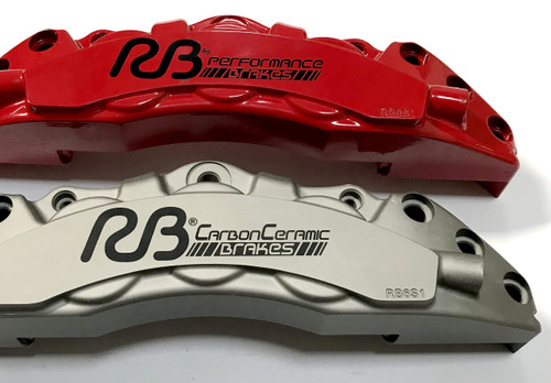 RB-CCB System Kit (390x34/380x30) for Nissan GT-R 2009+ (P/N 2C30-K & 2C31-K), Rotors Size = Stock Replacement