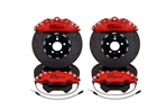 RB-CCB System Kit (394/390) Carbon Ceramic Rotors w/RB Forged Aluminum Calipers for Mercedes SL63/SL65 2005-12
