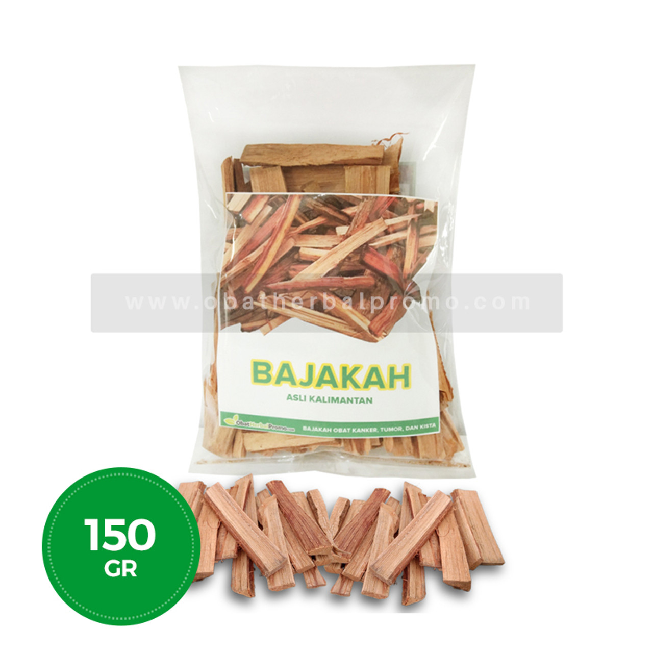 Herbal Promo Akar Kayu Bajakah Kering 150g Obat Kanker Payudara, Tumor dan Kista