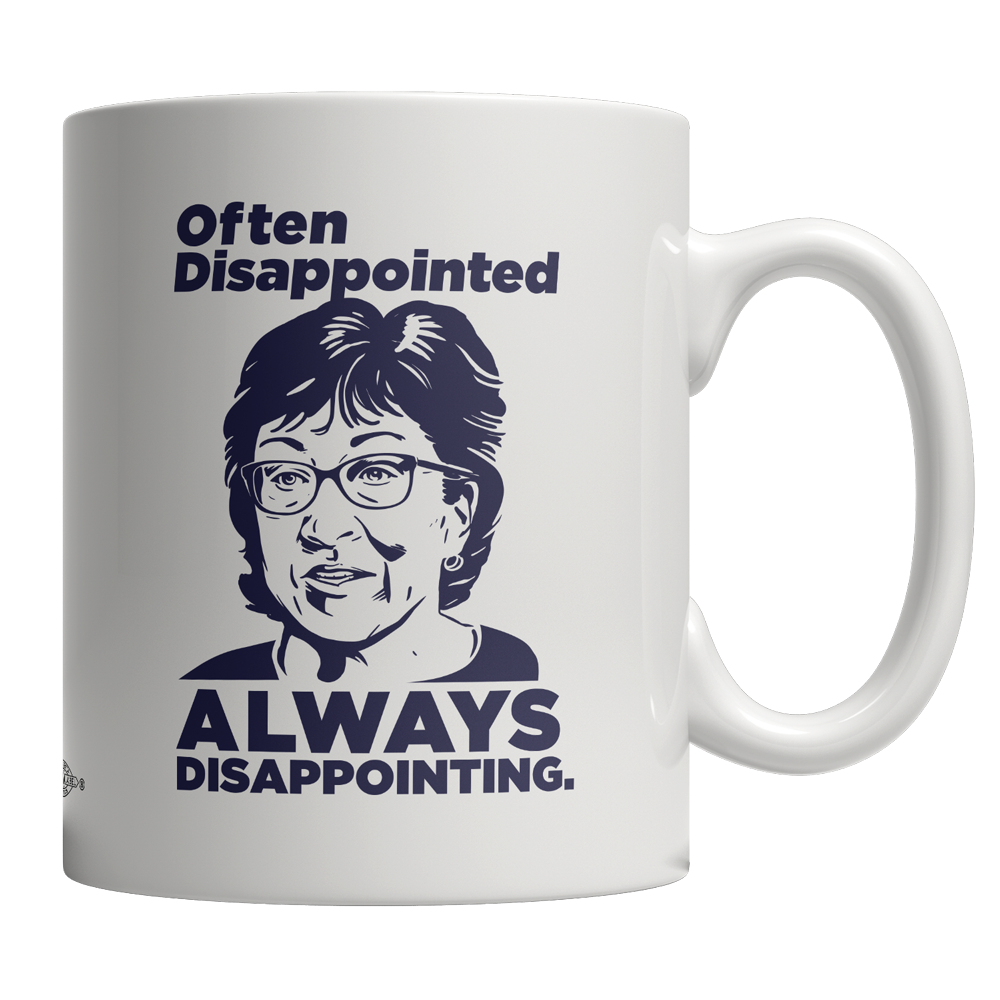 Always Disappointing (11oz Ceramic Mug)