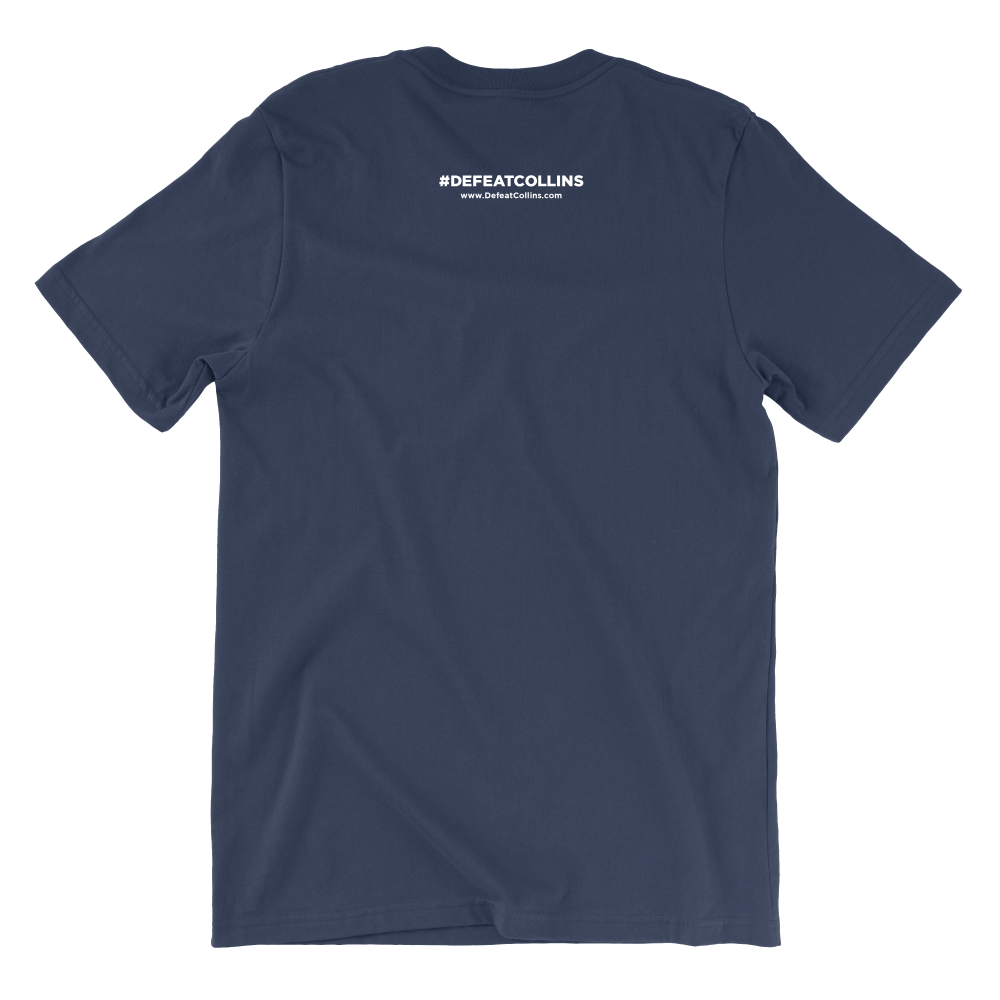 Always Disappointing (Unisex & Women's Navy Tee)