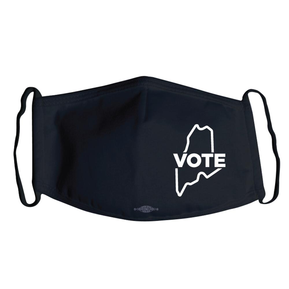 Maine Vote (Black Mask)