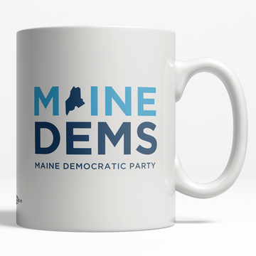 Maine Democratic Party Official Logo (11oz. Coffee Mug)