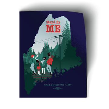 "Stand By ME (3.5"" x 4.5"" Vinyl Sticker -- Pack of Two!)"