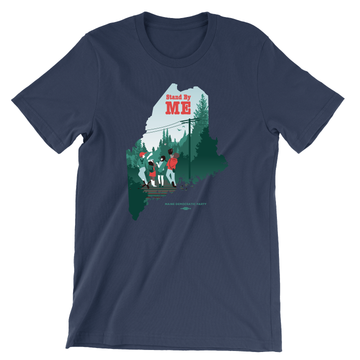 Stand By ME (Unisex Navy Tee)