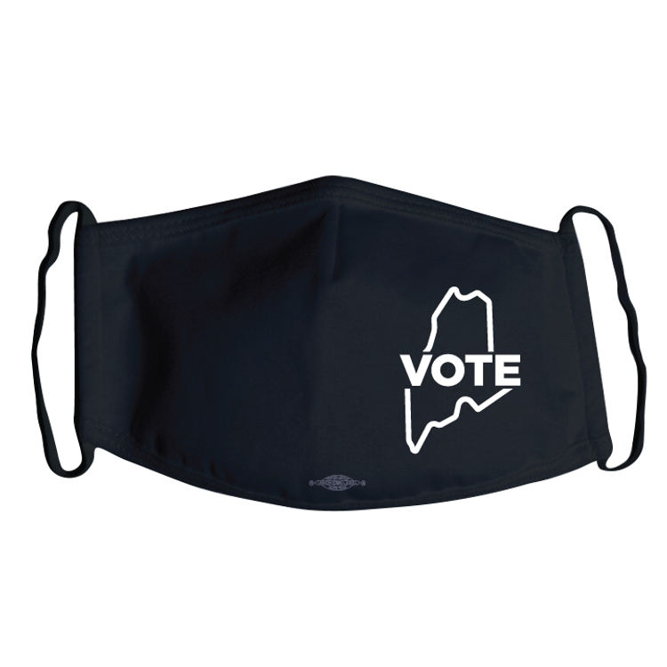 Maine Vote (Black Mask)