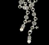 Lion Belt Necklace details custom handmade by Bowman Originals, Sarasota, 941-302-9594