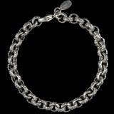 Leaf Bracelet, Sterling Silver, handmade, engraved | Bowman Originals , Sarasota, 941-302-9594