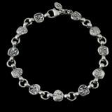 Lion Bracelet, Silver, handmade | Bowman Originals, Sarasota, 941-302-9594.
