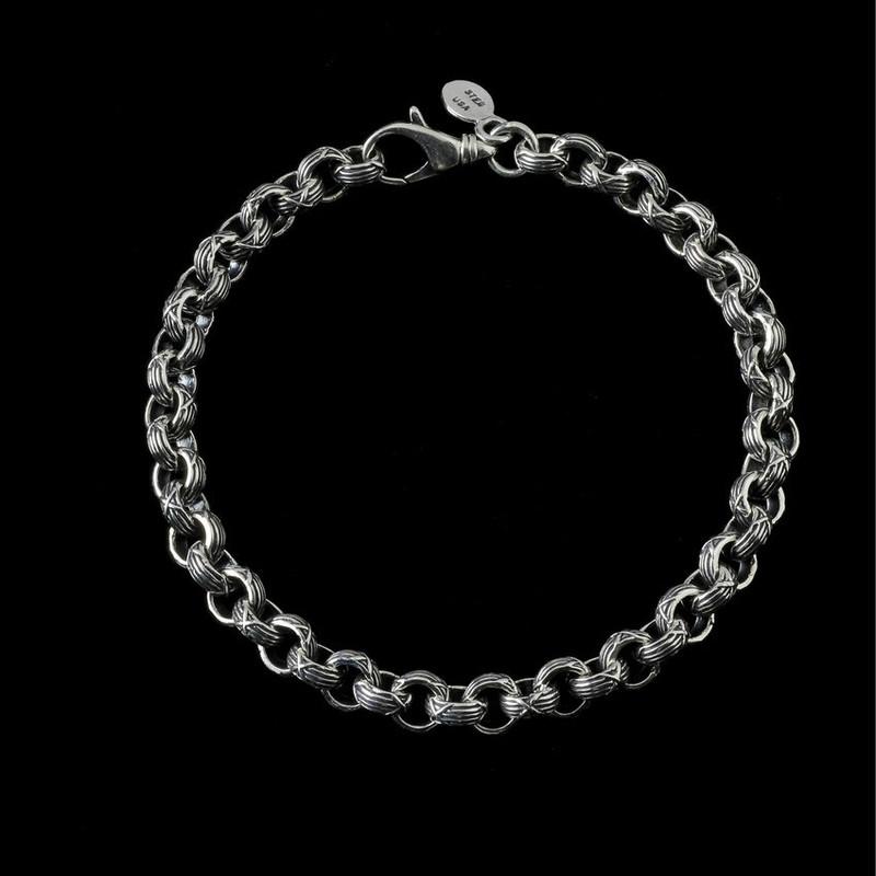 Harvest Bracelet handmade and engraved Sterling Silver by Bowman Originals, Sarasota, 941-302-9594.