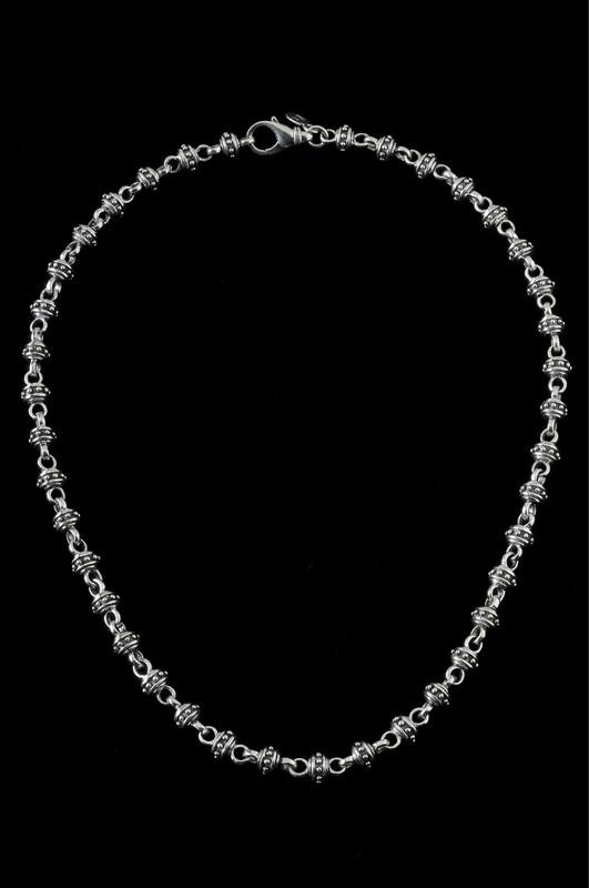 Alexander IV chain, silver handmade by Bowman Originals, Sarasota, 941-302-9594