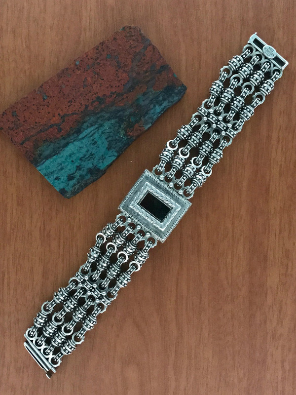 Silver Chainmail Bracelet handmade by Bowman Originals