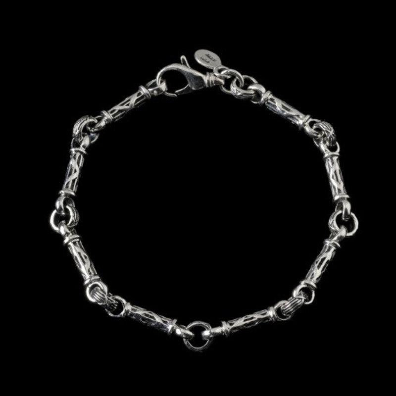 Harvest Bar Bracelet handmade and engraved in Sterling Silver by Bowman Originals, Sarasota, 941-302-9594.